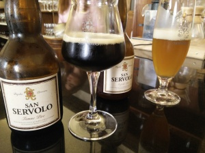 San Servolo craft beer (his 'n' hers)