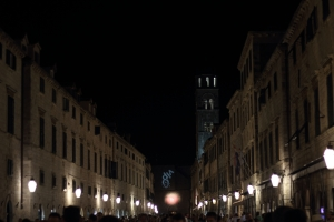 Stradun by night