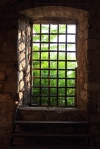 Arty window inside fort